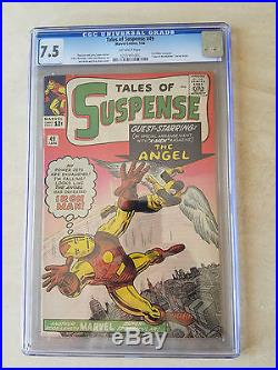 1964 MARVEL COMICS #49 TALES OF SUSPENSE 1st X-Men Crossover CGC 7.5