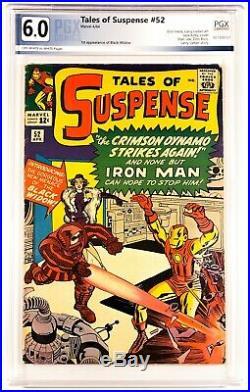 1964 MARVEL COMICS TALES OF SUSPENSE #52 PGX 6.0 OWithW 1ST BLACK WIDOW LIKE CGC