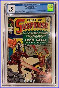 (1964) Tales Of Suspense #52! 1st appearance of the BLACK WIDOW CGC 0.5 OWP