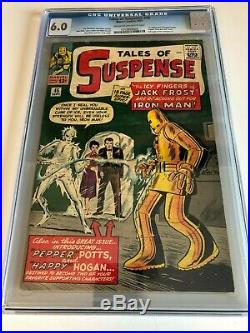 1st Happy, Pepper and Jack Frost in Tales of Suspense #45 comic CGC 6.0