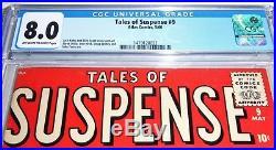 Atlas Comics Marvel Tales of Suspense #9 CGC Universal Grade 8.0 Diablo