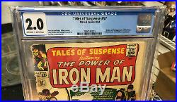 CGC 2.0 Tales of Suspense 57 Origin and 1st Appearance of Hawkeye Marvel Comics