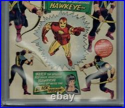 Cgc 6.5 Tales Of Suspense #57 1st Appearance Of Hawkeye Ow Pages