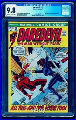 Daredevil 83 Cgc 9.8 1 Of 8 Top Black Widow See Tales Of Suspense 52 Auction