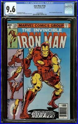 Iron Man #126 Newsstand CGC 9.6 White Pages Tales of Suspense #39 Cover Homage