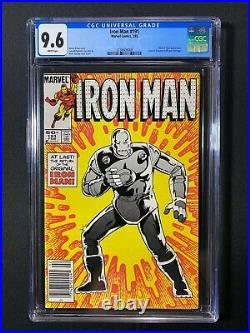 Iron Man #191 CGC 9.6 (1985) RARE Newsstand Tales of Suspense #39 cover ref