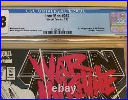 Iron Man #282 CGC 9.8 1st Appearance War Machine Nicky Fury Tales Of Suspense