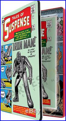 Marvel Comics Tales Of Suspense #39 Silver Foil Cgc 10 Mint First Releases