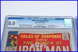 Marvel Comics Tales of Suspense #52 & #53 CGC Graded 8.0 & 4.0 Black Widow Key