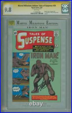 Marvel Milestone Edition Tales Of Suspense #39 Cgc 9.8 White Pages