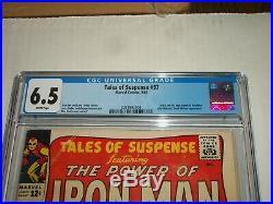 Marvel TALES OF SUSPENSE #57 CGC 6.5 Origin & 1st Appearance of Hawkeye