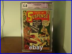 Marvel Tales of Suspense 46 CGC Graded 5.0 Restored