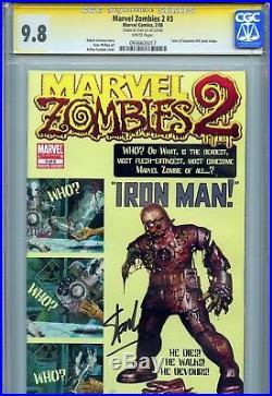 Marvel Zombies 2 3 CGC 9.8 SS Stan Lee Suydam Kirkman Tales of Suspense 39 cover