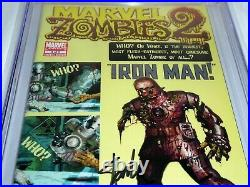 Marvel Zombies 2 #3 CGC SS Signature Autograph STAN LEE Tales of Suspense #39
