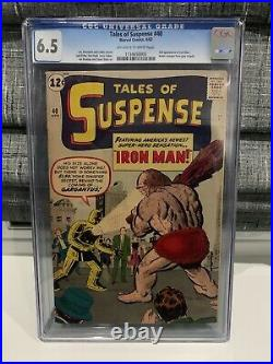 Silver Age Marvel Comic Tales Of Suspense #40 CGC 6.5 2nd Iron Man/1st Gold Suit