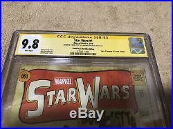 Star Wars 1 CGC SS 9.8 Jeremy Bulloch Remark Boba Fett Tales Suspense 39 Variant