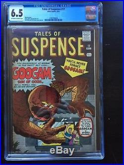 TALES OF SUSPENSE #17 CGC FN+ 6.5 OW-W Googam, son of Goom