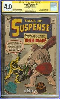 TALES OF SUSPENSE #40 CGC 4.0 OWithWH PAGES