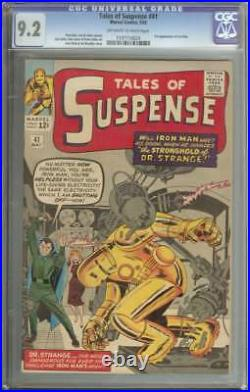 TALES OF SUSPENSE #41 CGC 9.2 OWithWH PAGES // 3RD APPEARANCE IRON MAN