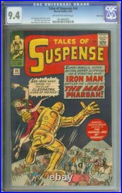 TALES OF SUSPENSE #44 CGC 9.4 OWithWH PAGES // TWIN CITIES PEDIGREE