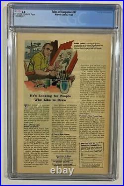 TALES OF SUSPENSE 47 1963 CGC 7.0 IRON MAN Origin 1ST Melter STAN LEE JACK KIRBY