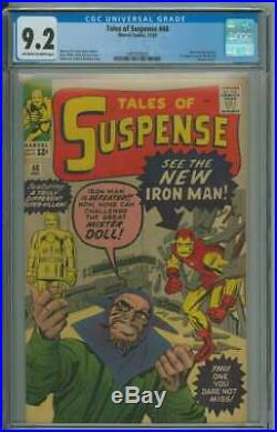 TALES OF SUSPENSE #48 CGC 9.2 OWithWH PAGES