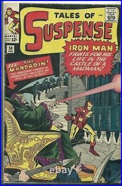 TALES OF SUSPENSE #50 1st MANDARIN MCU IRON MAN Marvel Comic OMG HAVE TO CGC IT
