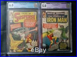 TALES OF SUSPENSE #50 & #54 CGC 6.0 5.0 1ST and 2nd Appearance of MANDARIN