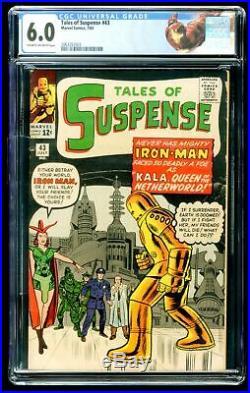 TALES OF SUSPENSE #50 CGC 6.0 / 1st APPEARANCE OF MANDARIN IRON MAN CUSTOM LABEL