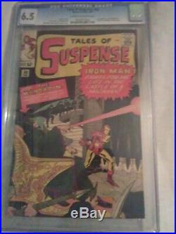 TALES OF SUSPENSE#50 CGC 6.5, 1st app MANDRIN, AWESOME KEY ISSUE