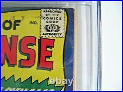 TALES OF SUSPENSE 52 (1st BLACK WIDOW) 1964 MOVIE COMING CGC 3.5 (LOOKS 5.0)