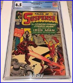 TALES OF SUSPENSE #52 1st appearance BLACK WIDOW 1964 Marvel CGC 6.5 nice
