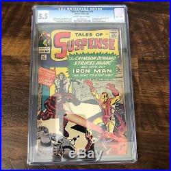 TALES OF SUSPENSE #52 Black Widow 1st Appearance CGC 5.5 Marvel Comics 1964