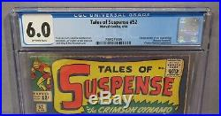TALES OF SUSPENSE #52 (Black Widow 1st appearance) CGC 6.0 FN Marvel Comics 1964