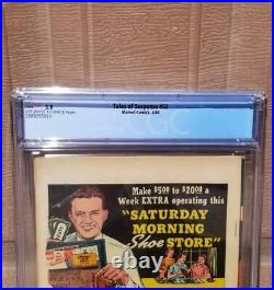 TALES OF SUSPENSE #52 CGC 5.0 OW-WHITE Pages 1st Black Widow Iron Man 1 Movie