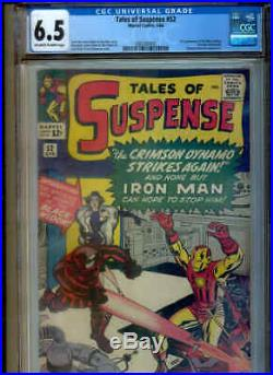 TALES OF SUSPENSE 52 CGC 6.5 (1st Appearance BLACK WIDOW! Movie coming!)