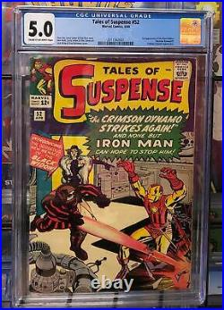 TALES OF SUSPENSE #52 Grade CGC 5.0 First apperance of THE BLACK WIDOW