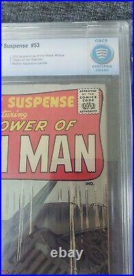 TALES OF SUSPENSE #53 1964 CBCS 6.0 ORIGIN of WATCHER + 2nd BLACK WIDOW
