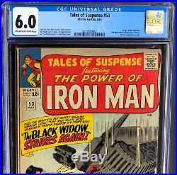 TALES OF SUSPENSE #53 (1964) CGC 6.0 ORIGIN of WATCHER + 2nd BLACK WIDOW