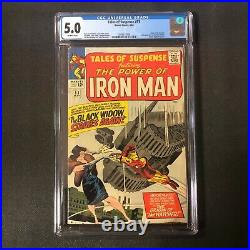 TALES OF SUSPENSE #53 (May 1964, Marvel) CGC 5.0 OFF-WHITE Pages