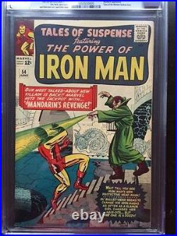 TALES OF SUSPENSE #54 CGC NM 9.4 OW-W Kirby Mandarin cover