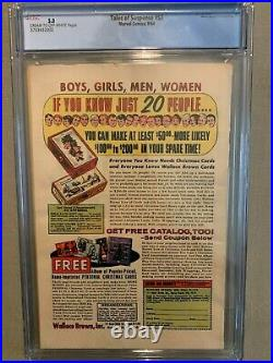 TALES OF SUSPENSE #57 (Hawkeye 1st app) CGC 5.0 VG/FN Marvel 1964 Iron Ma