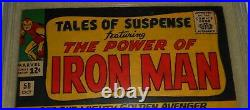 TALES OF SUSPENSE #58 CGC 7.0 FN/VF OW Pages Cap vs Iron Man