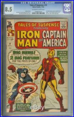TALES OF SUSPENSE #59 CGC 8.5 OWithWH PAGES
