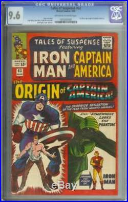 TALES OF SUSPENSE #63 CGC 9.6 OWithWH PAGES
