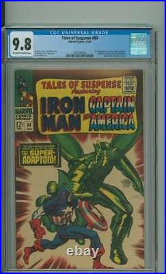 TALES OF SUSPENSE #84 CGC 9.8 OWithWH PAGES // ONLY FIVE 9.8'S ON CENSUS