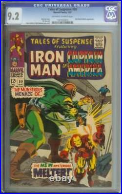 TALES OF SUSPENSE #89 CGC 9.2 OWithWH PAGES