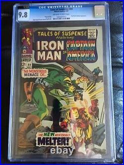 TALES OF SUSPENSE #89 CGC NM/MT 9.8 OW-W Iron Man cover Red Skull app