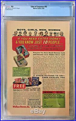 TALES OF SUSPENSE #93 CGC 9.0 LEE KIRBY MARVEL 1967 1st MODOK (CAMEO)