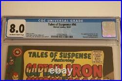 TALES OF SUSPENSE #94 CGC 8.0 1st appearance of MODOK